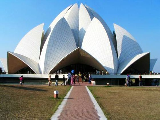 things to do in delhi, Lotus Temple